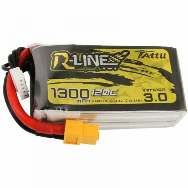 Tattu R-Line V3.0 1300mAh 4S 14.8V 120C